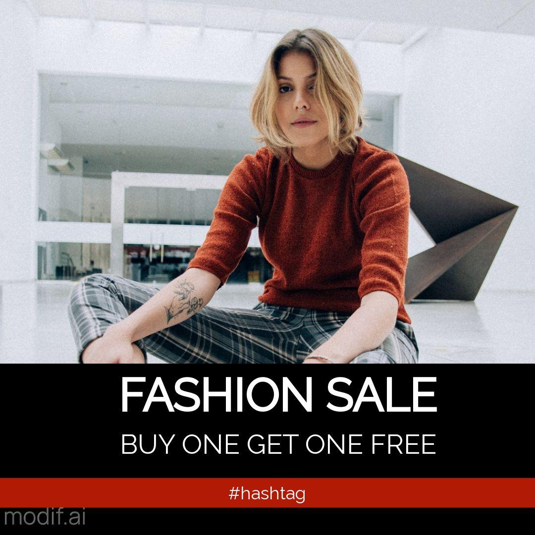 Free Fashion Sales Instagram Post Maker
