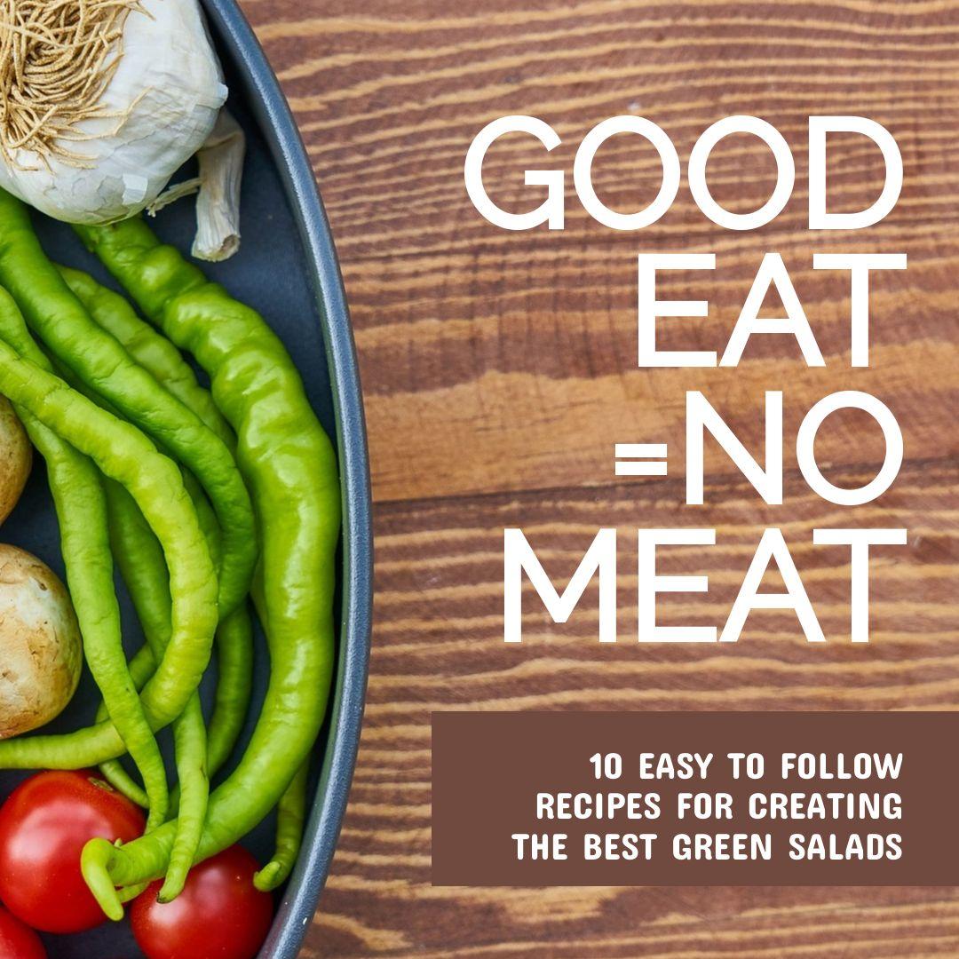 Free Green Salad Recipe Banner Maker