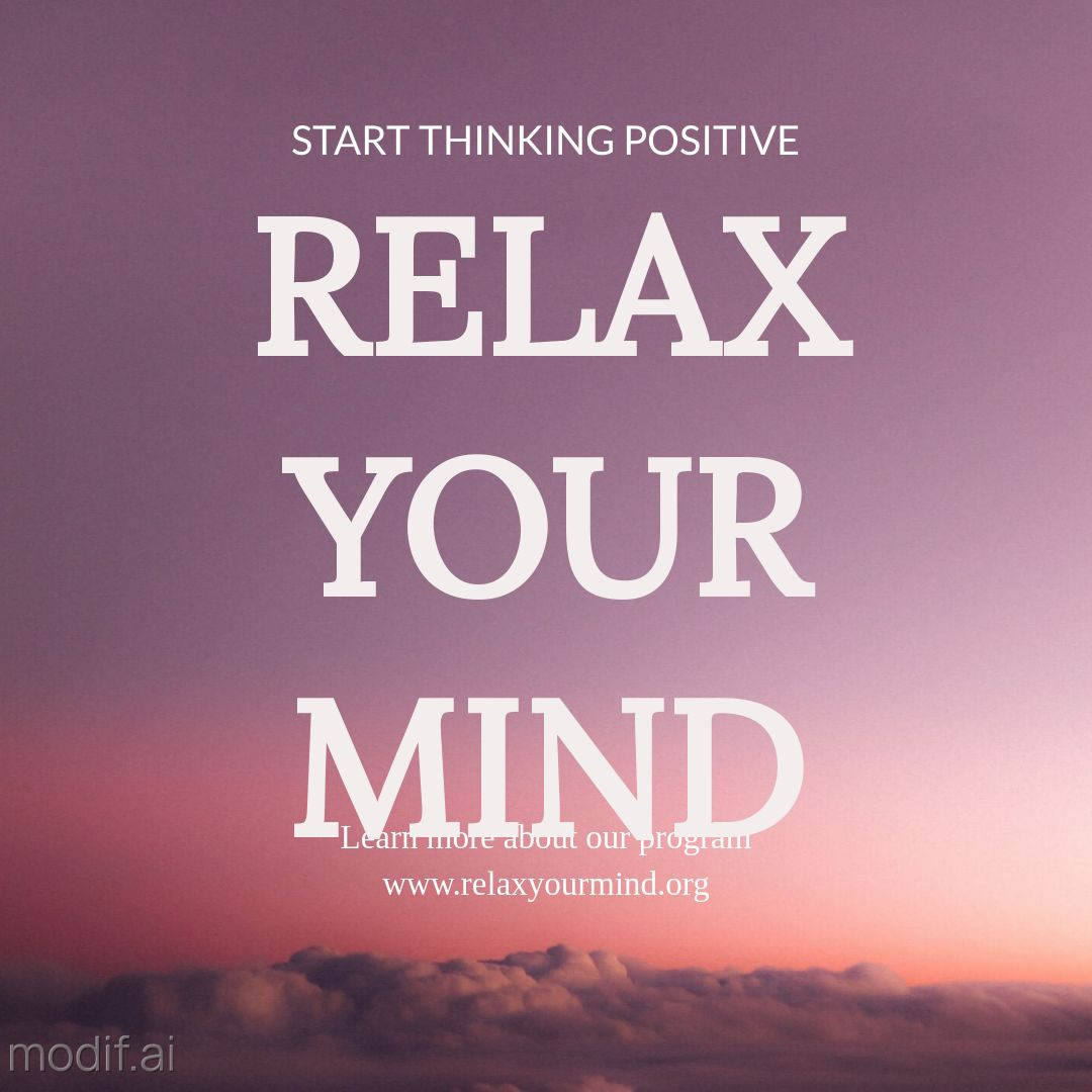 Free Relax Your Mind Instagram Post Maker