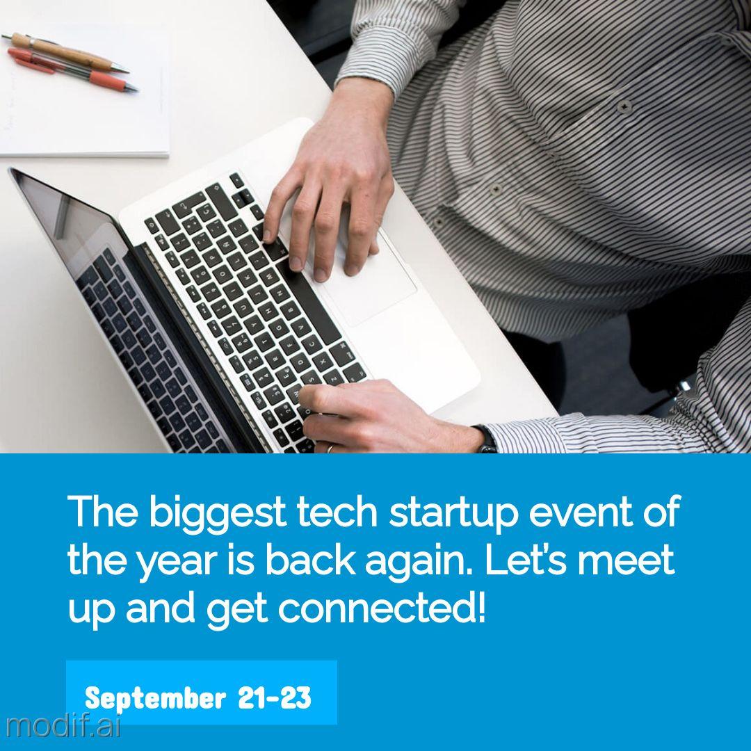 Tech Meetup Event Instagram Post Maker