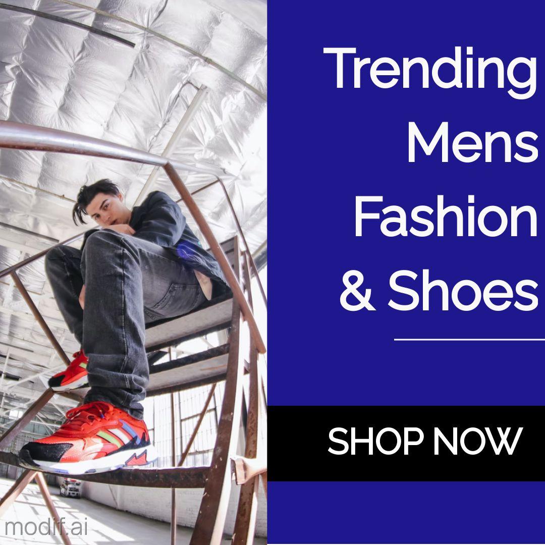 Mens Fashion Apparel Ad Instagram Post Template