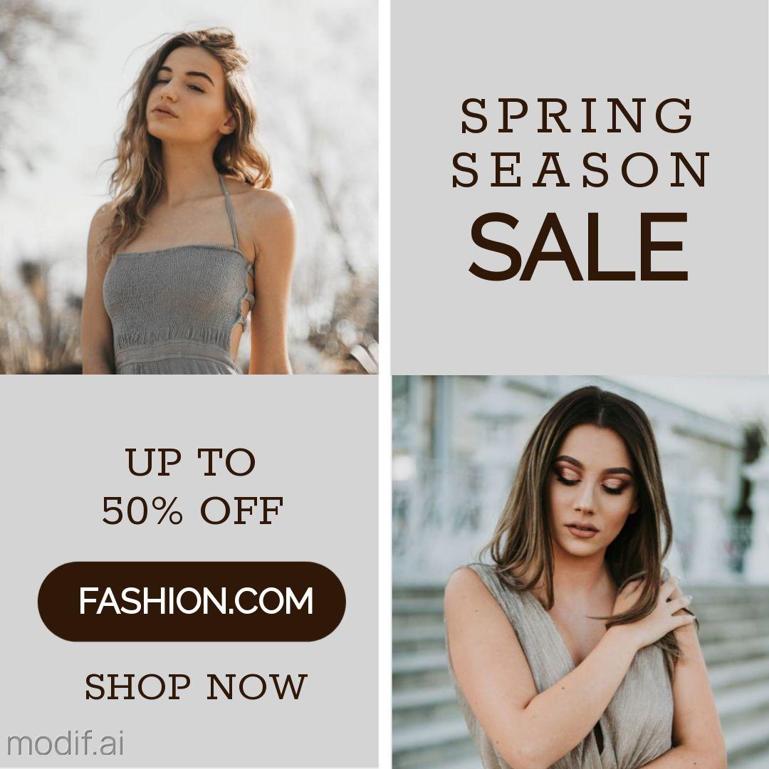 Multi Image Fashion Sale Banner Maker