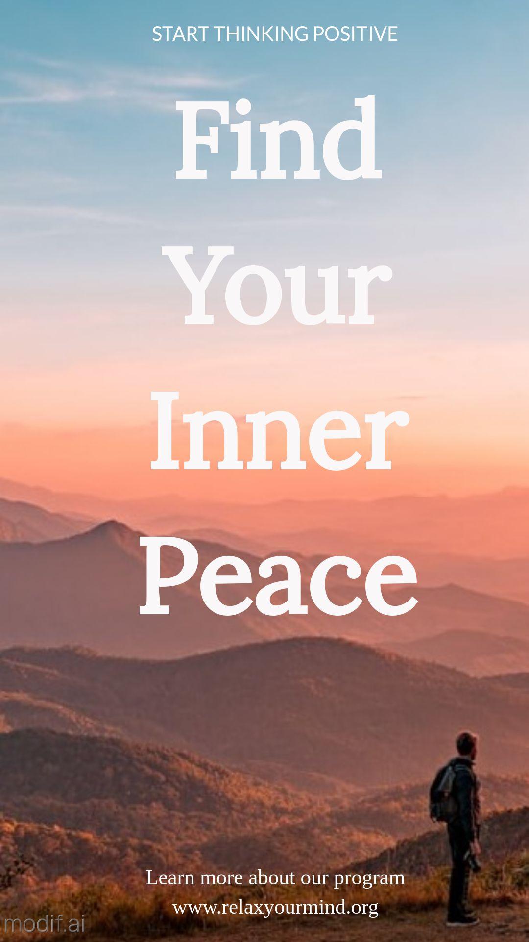 Inner Peace Instagram Story Maker