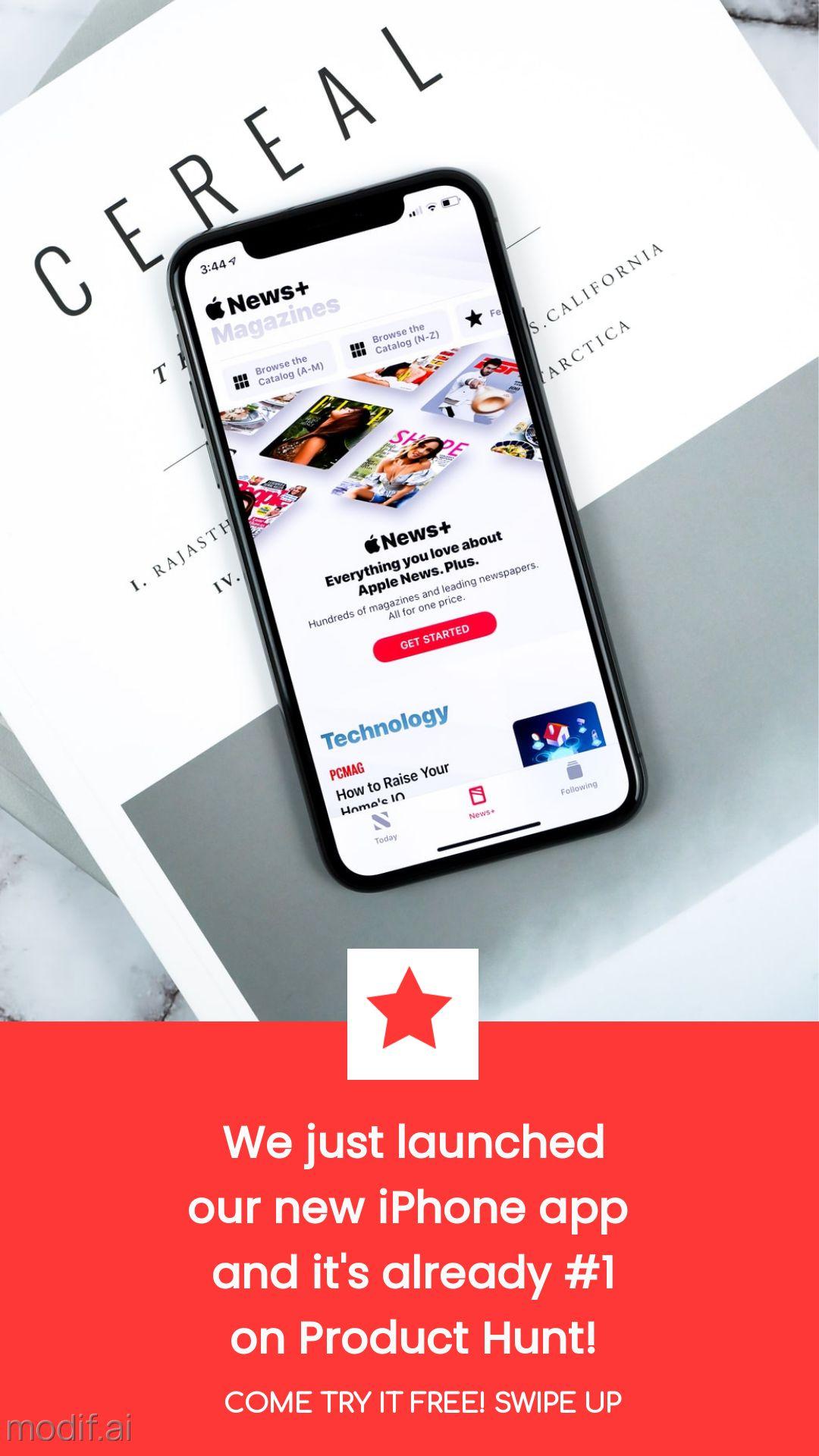 Mobile App Promo Instagram Story Maker