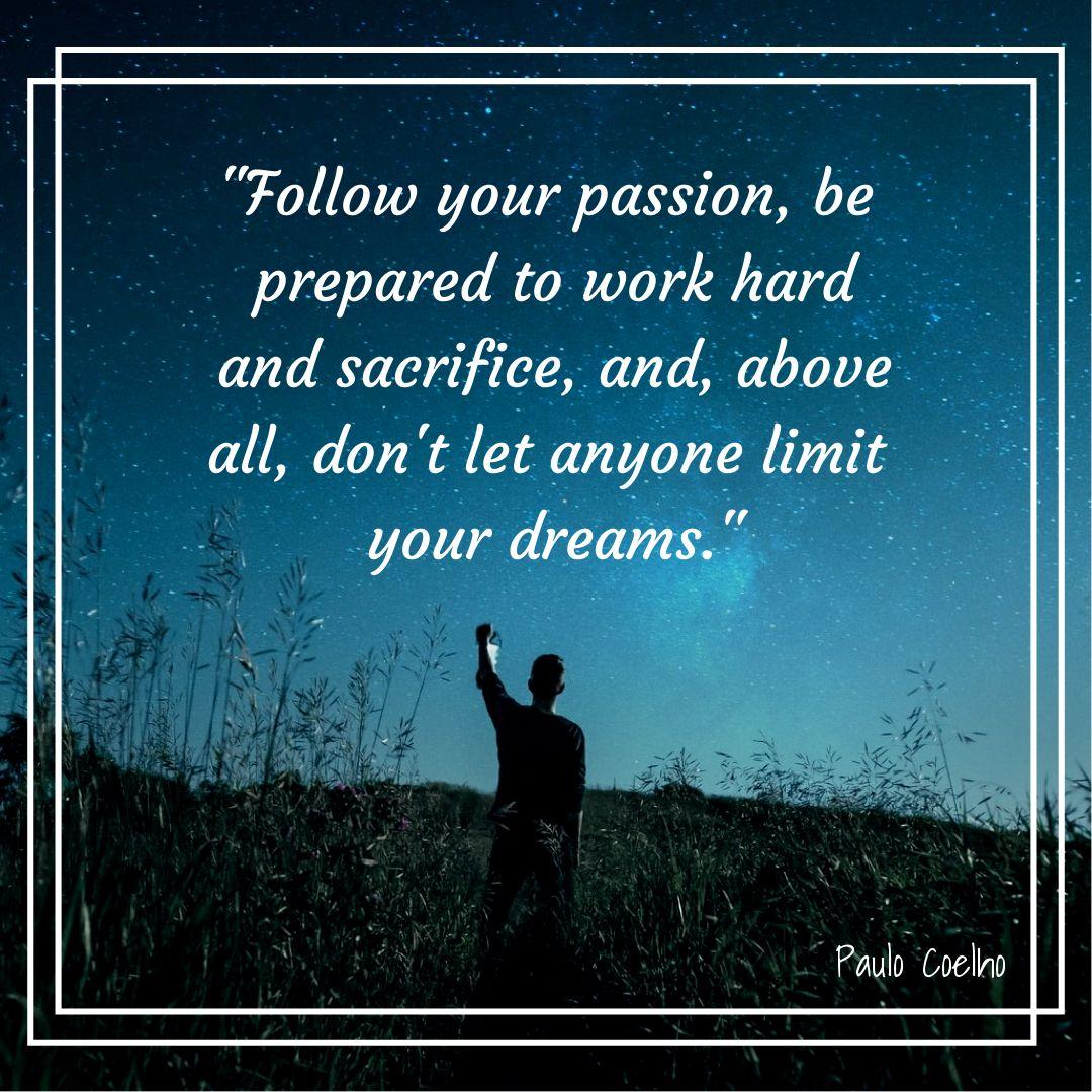 Passion Motivation Quote Banner Maker