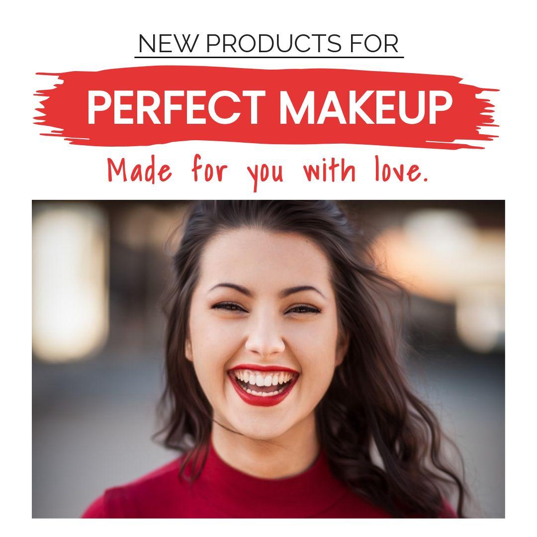 Makeup and Lipstick Banner Maker