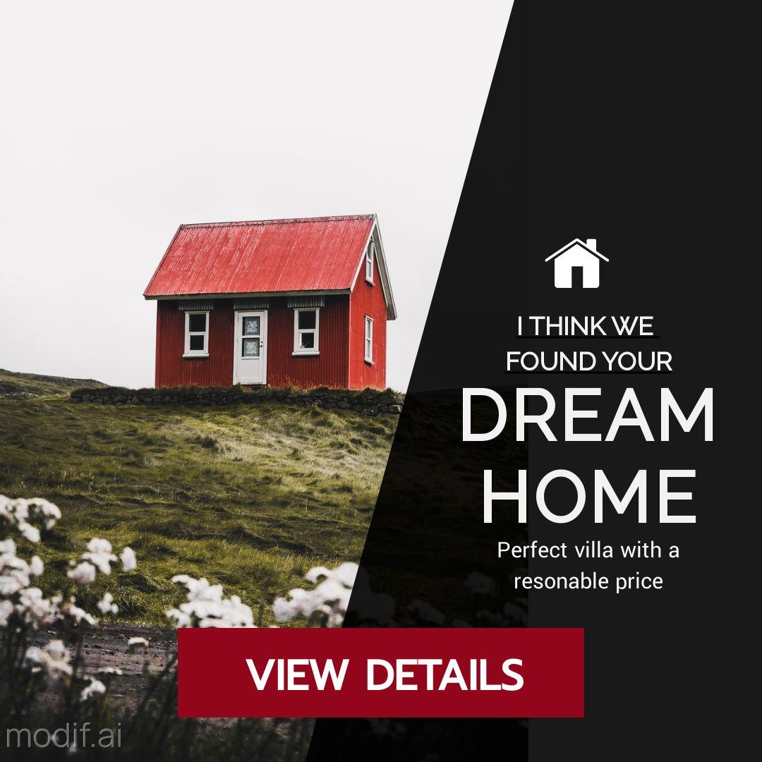 Real Estate House Banner Maker