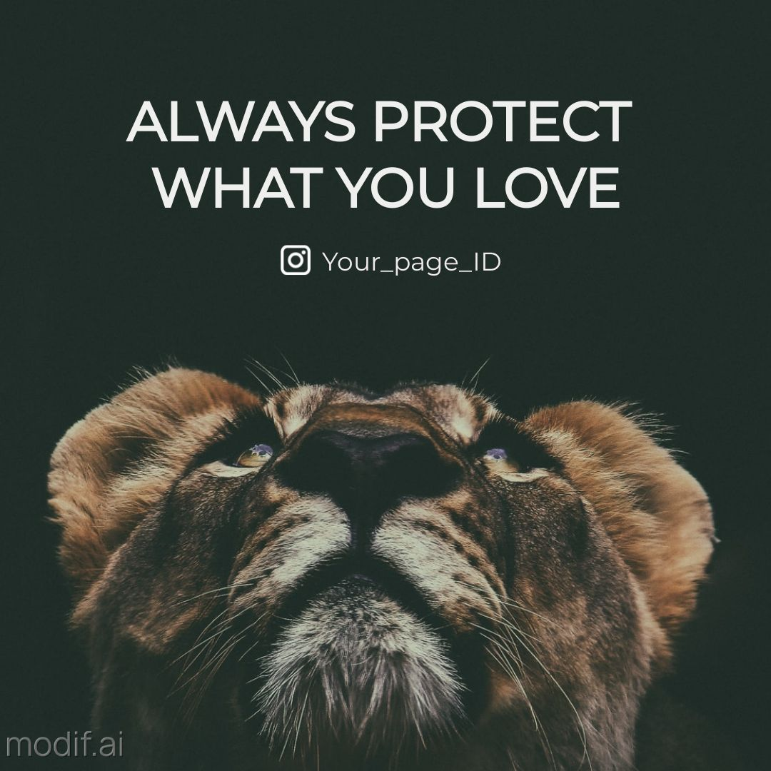 Protect What You Love Social Media Post Maker