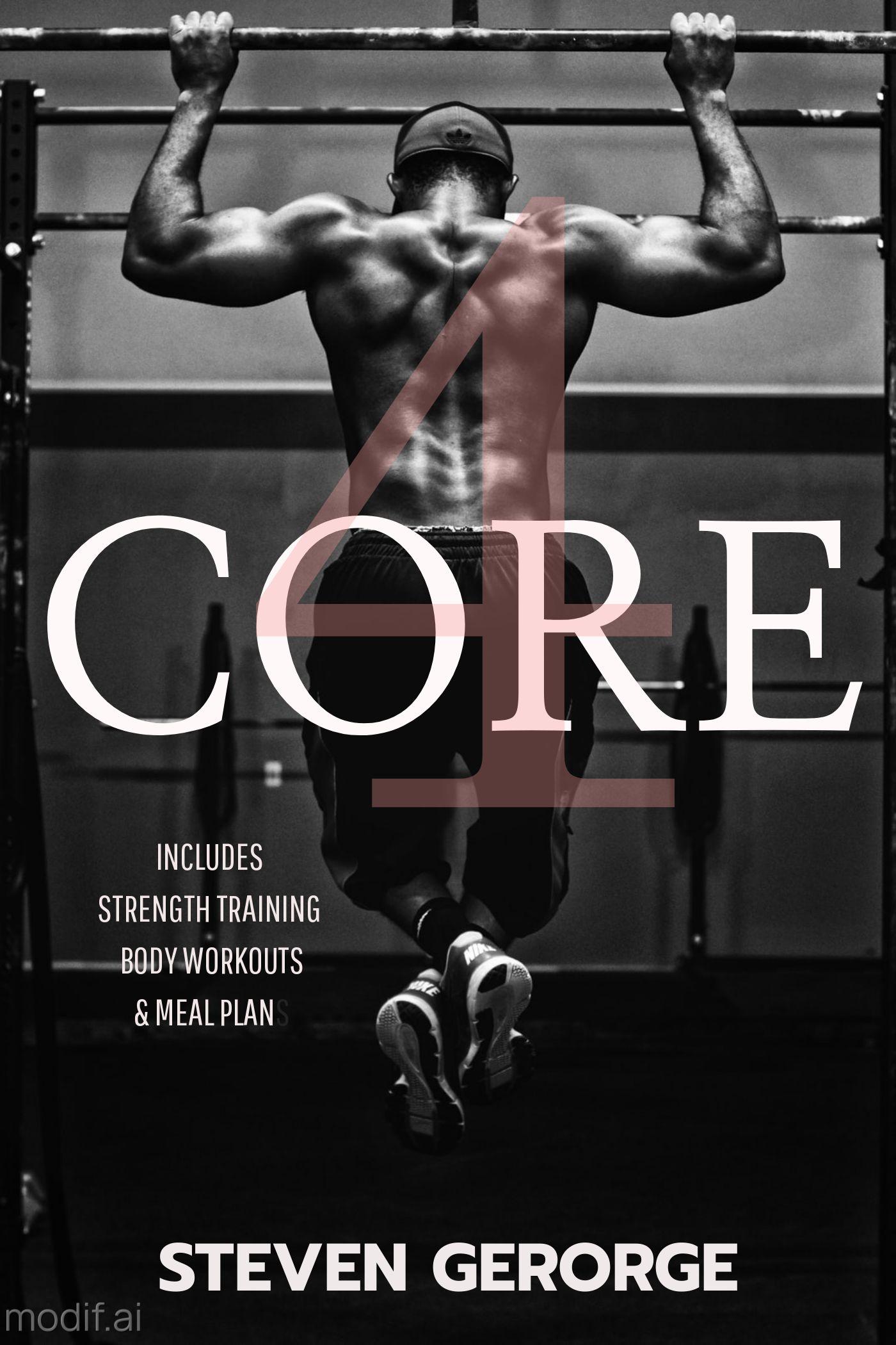 Core Gym Training Book Cover Maker