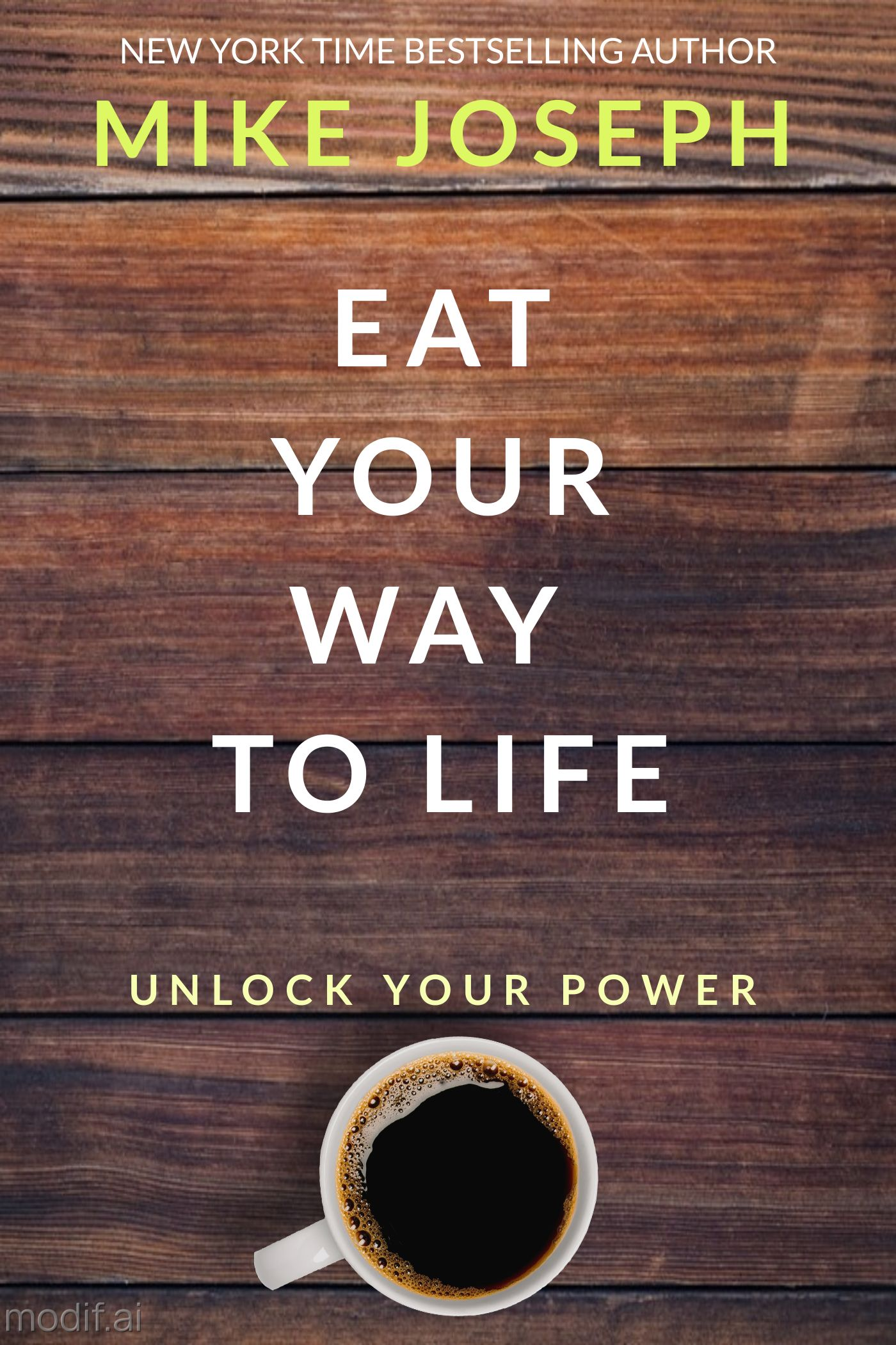 The Power of Food eBook Cover Template