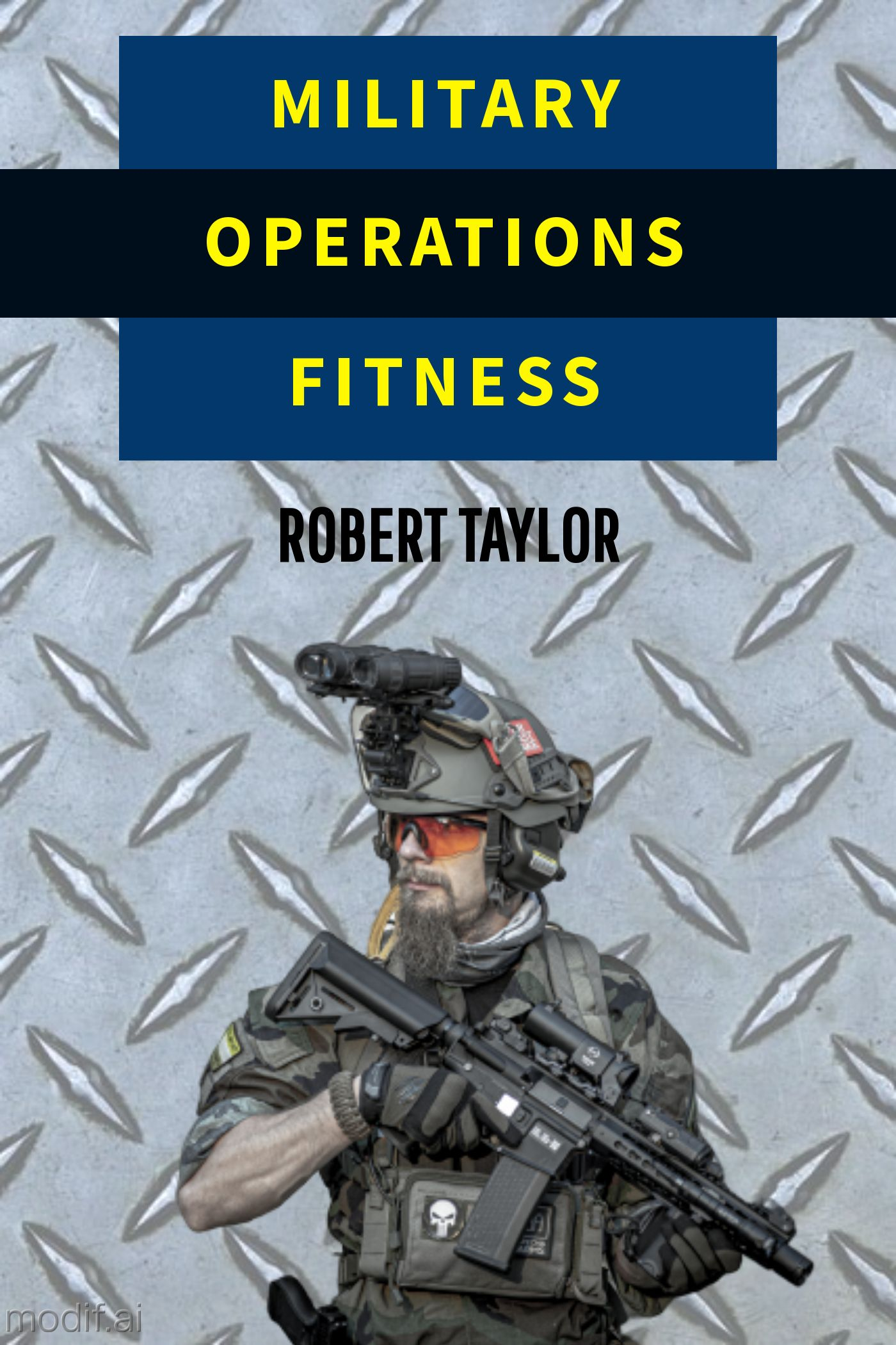 Military Workout Book Cover Maker
