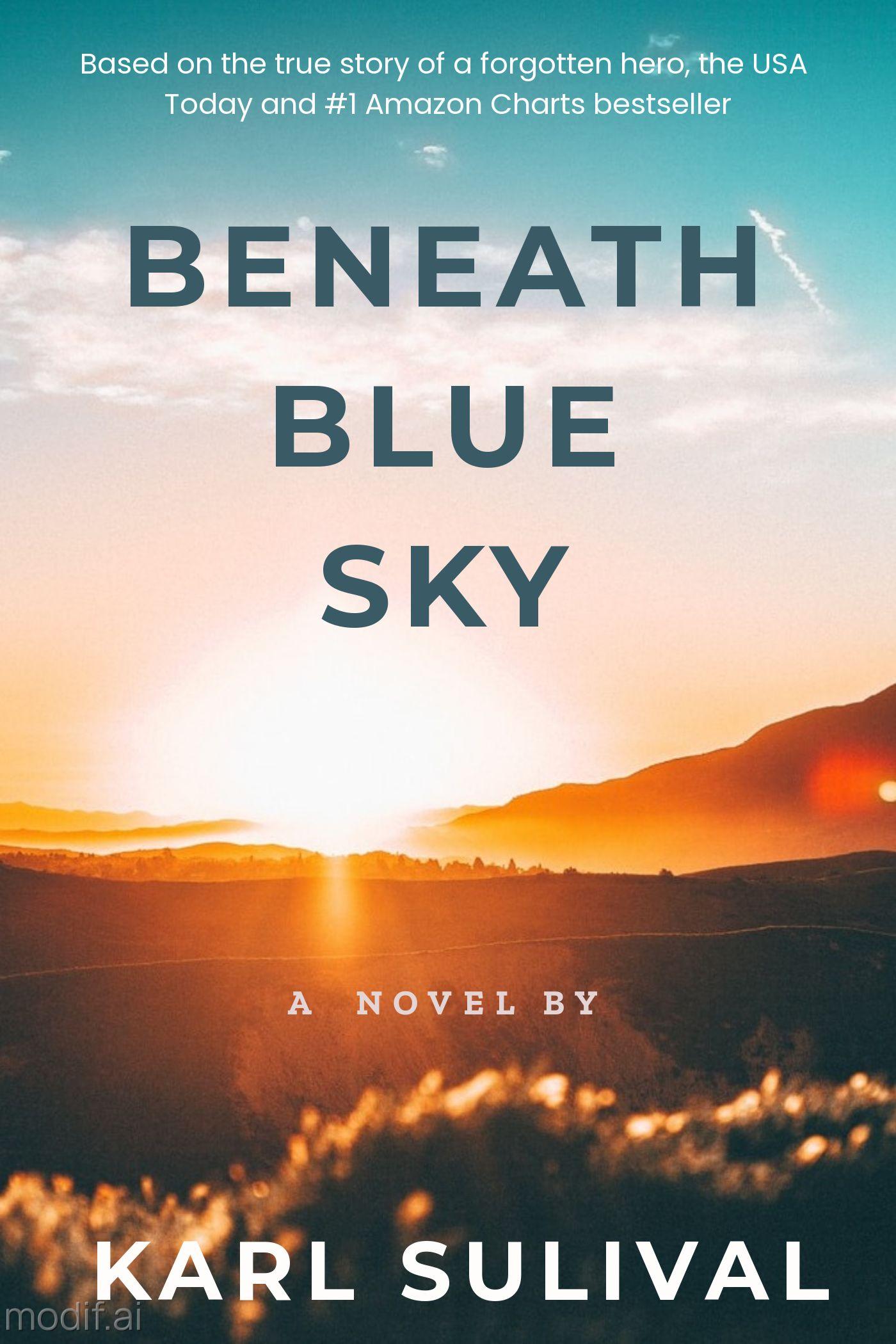 Sunset Sky Novel eBook Cover Template