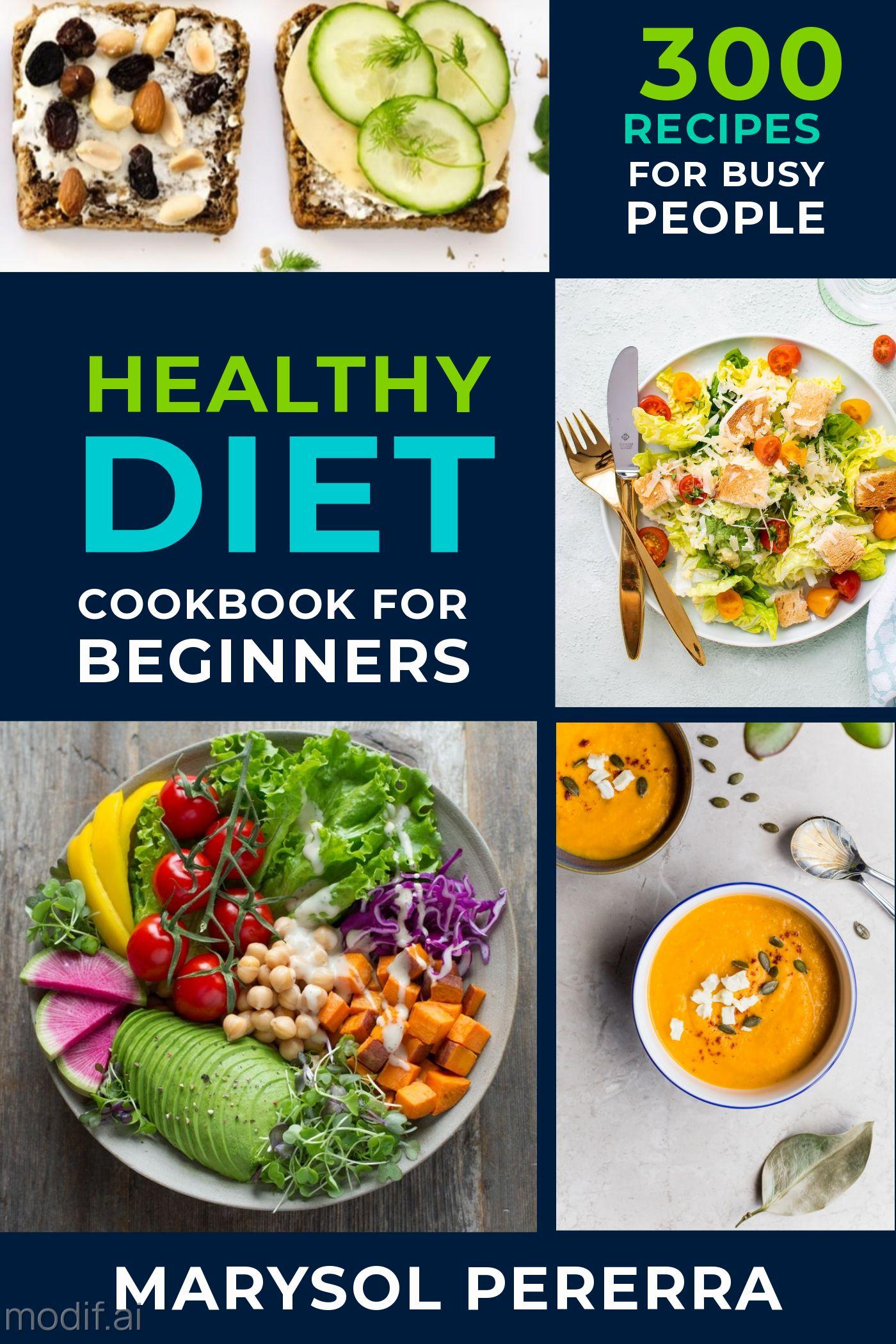 Recipe Cookbook eBook Cover Template
