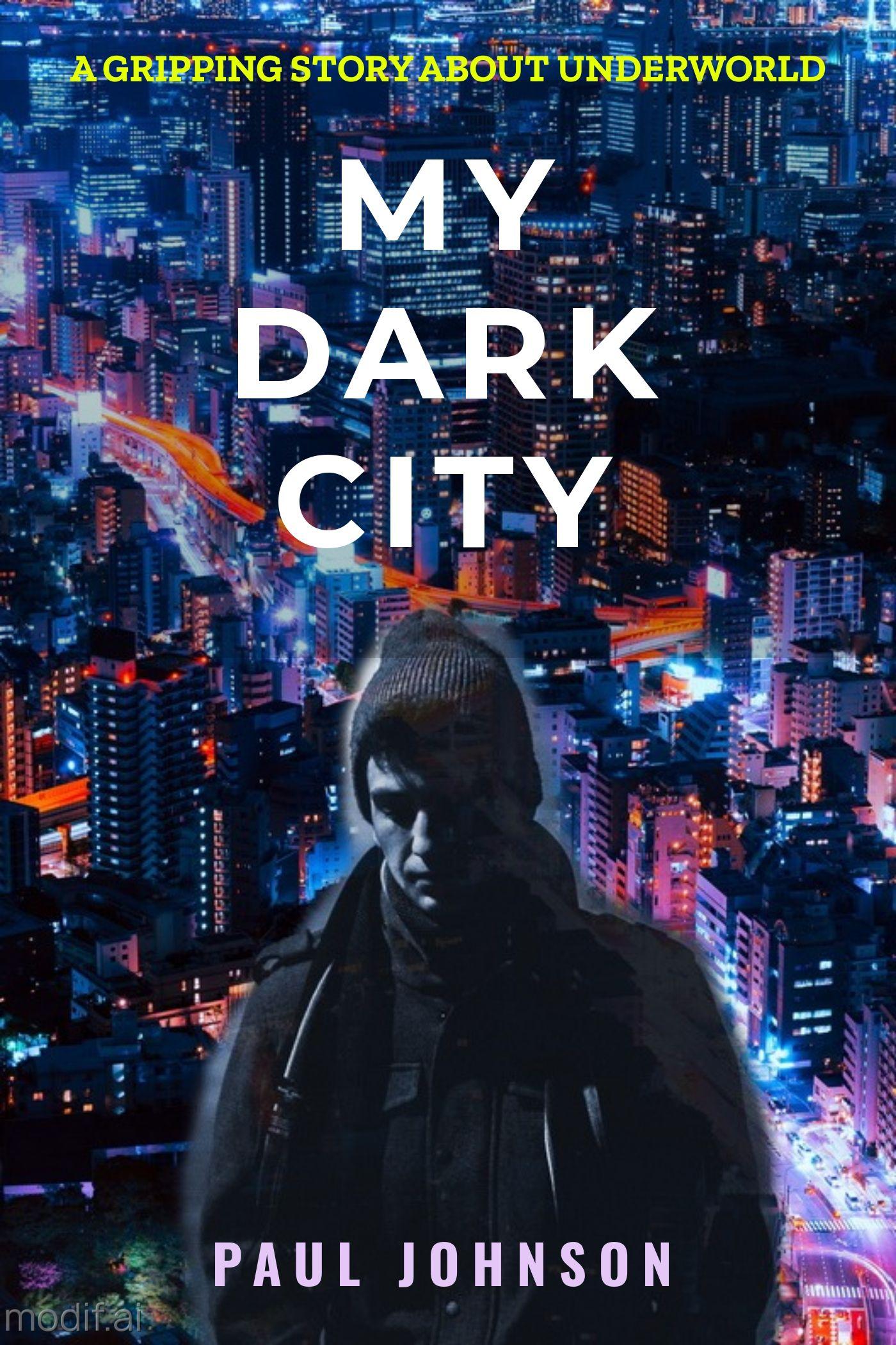 Urban City Book Cover Template