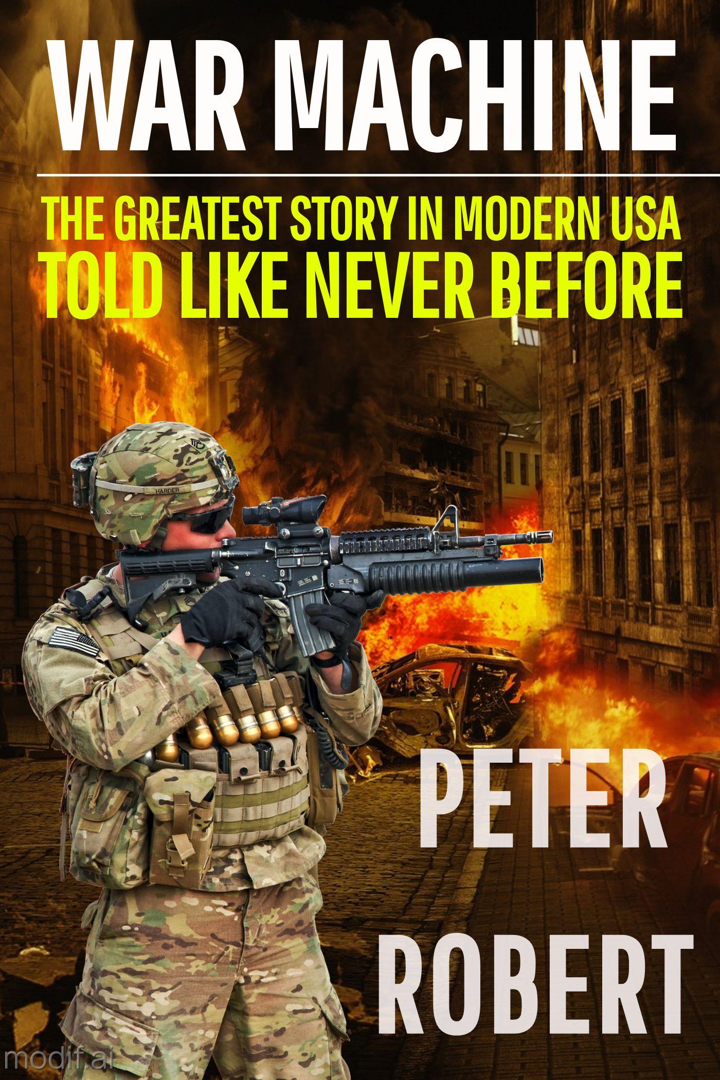 War Machine eBook Cover Maker