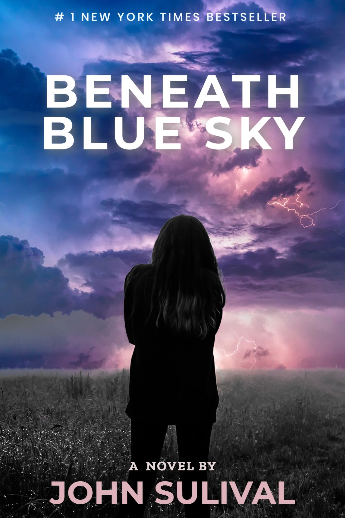 Storm Sky Novel eBook Cover Template
