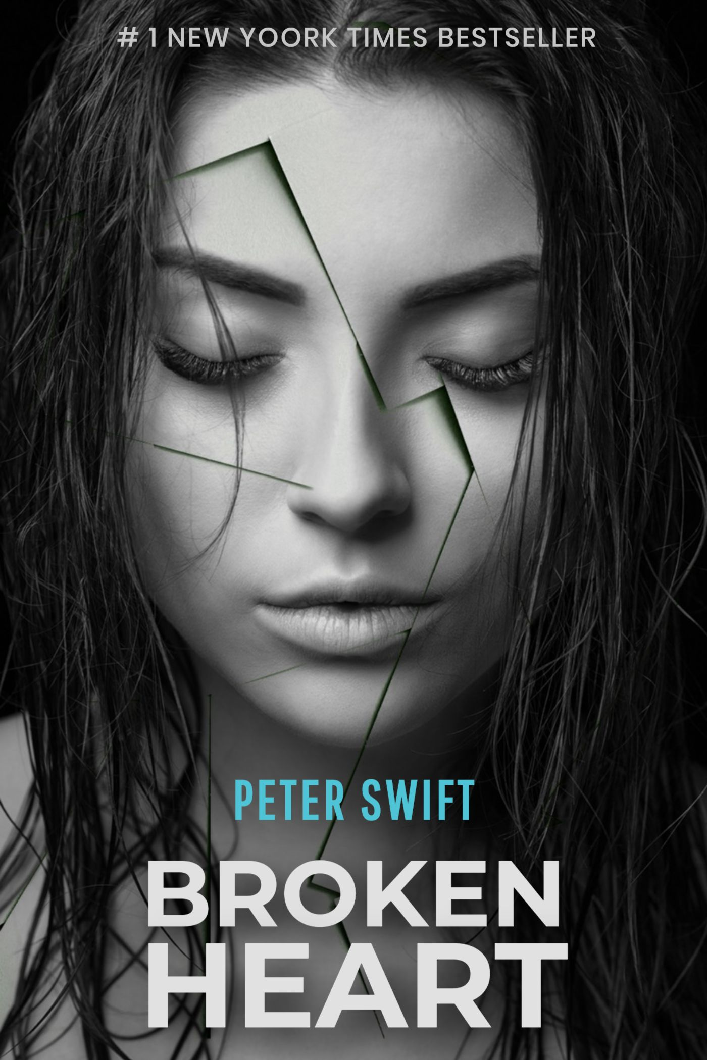 Broken Heart Book Cover Template