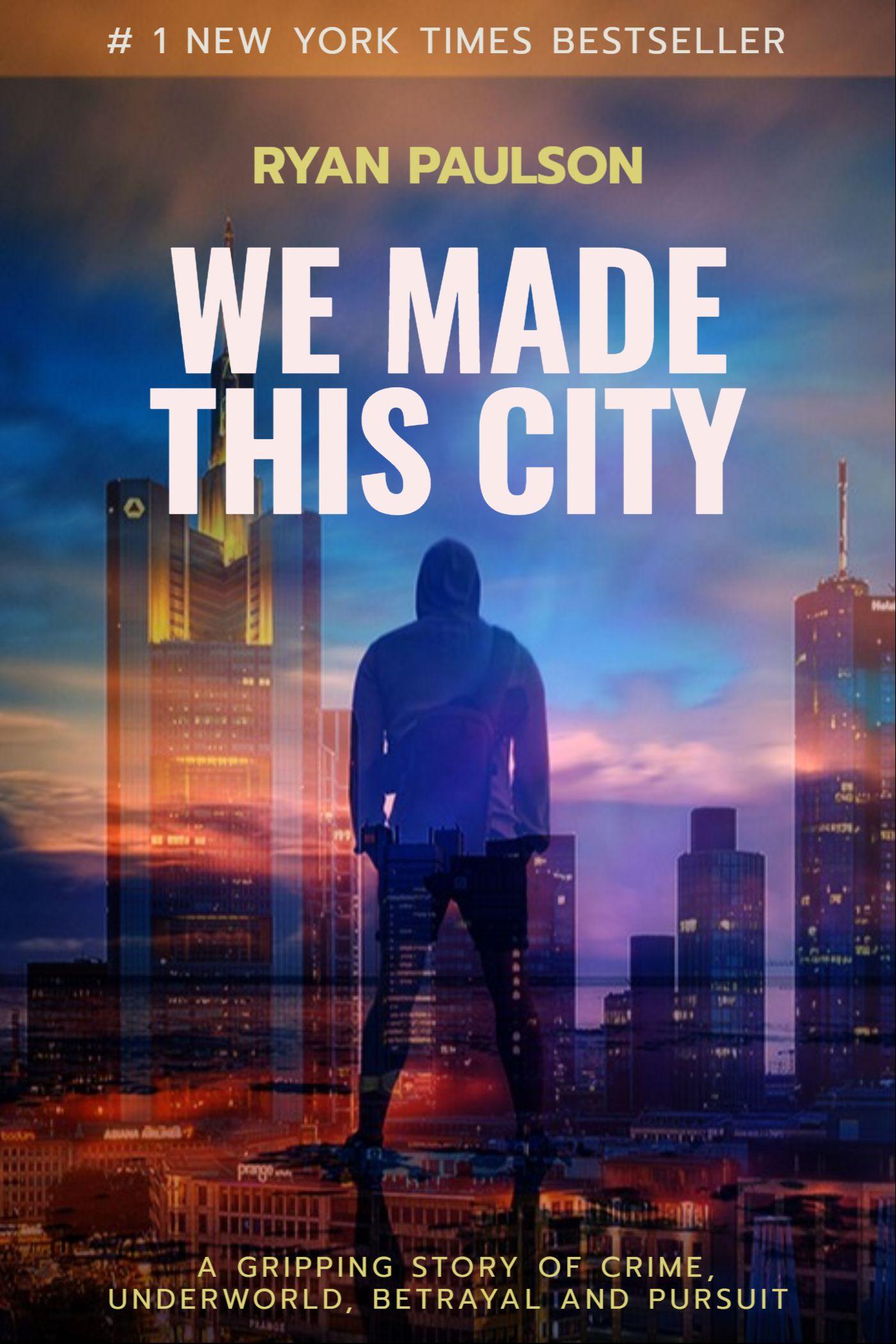 Underworld City Book Cover Template