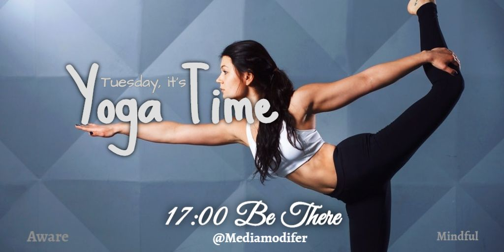 Twitter Tuesday Yoga Post Design