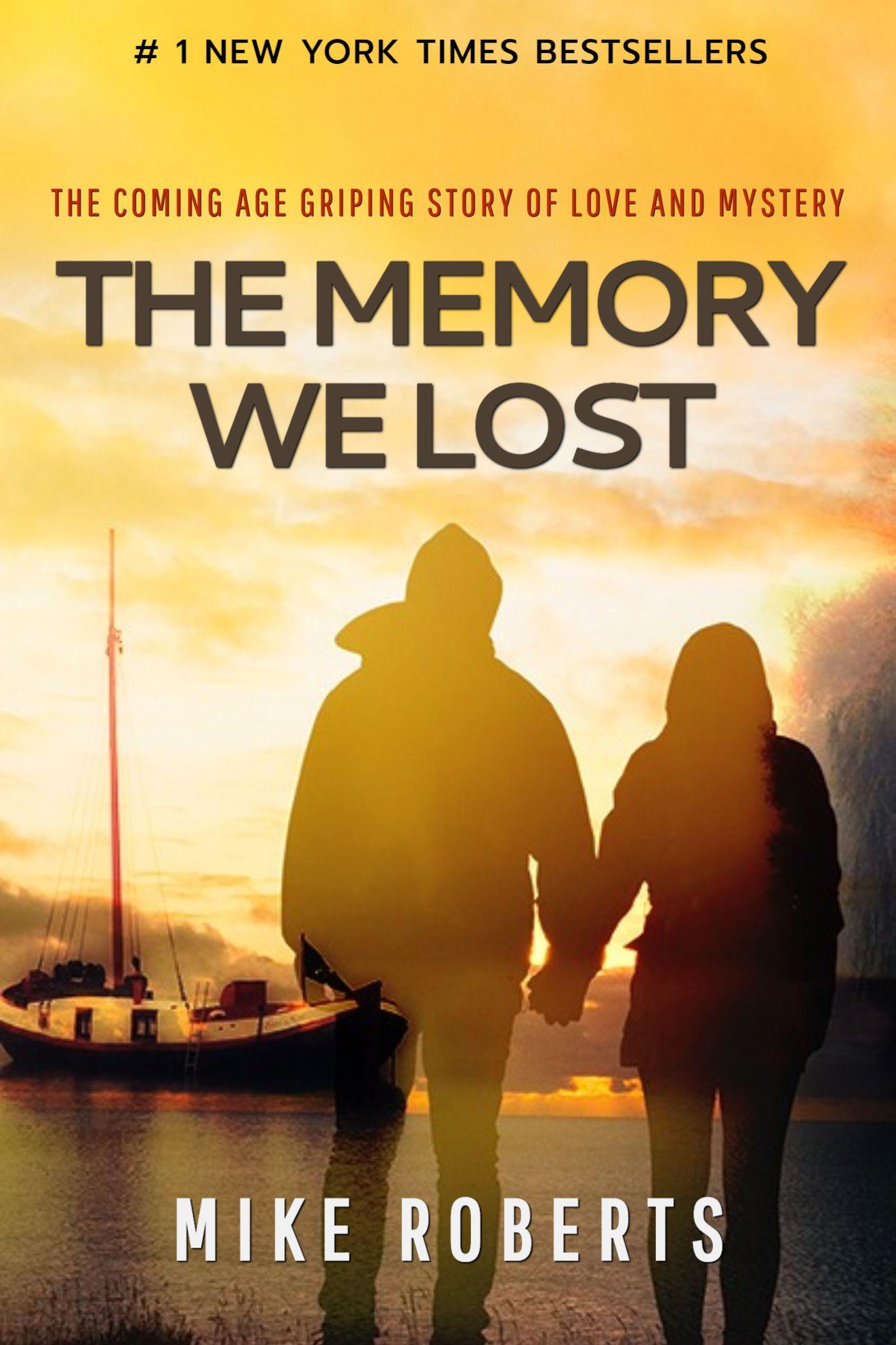 Memory Lane Book Cover Template