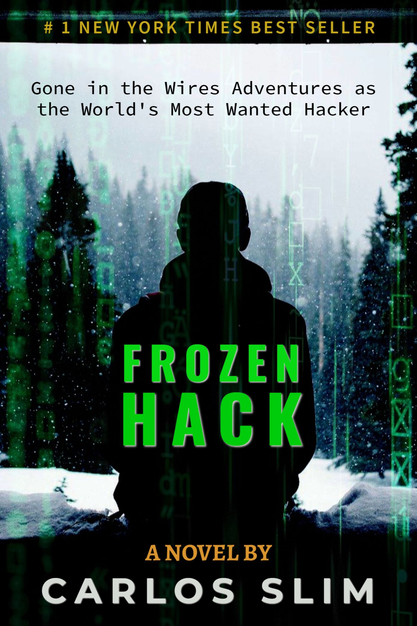 Sci Fi and Hacking Book Cover Template