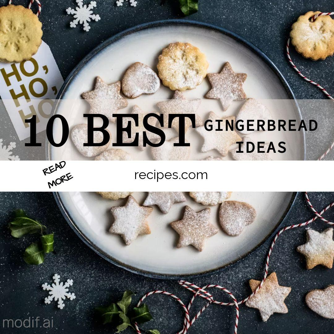 10 Best Gingerbread Ideas Instagram Post