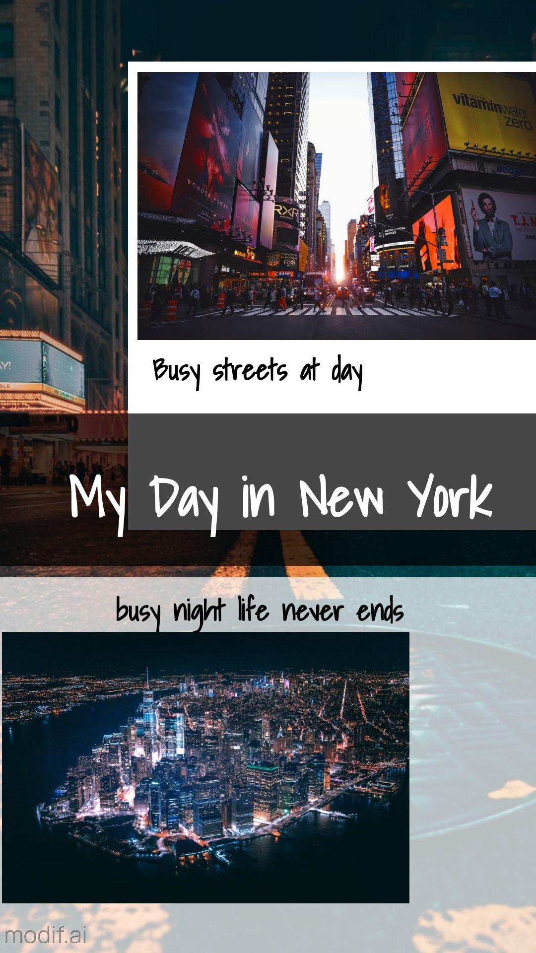 Night City Travel Instagram Story Template