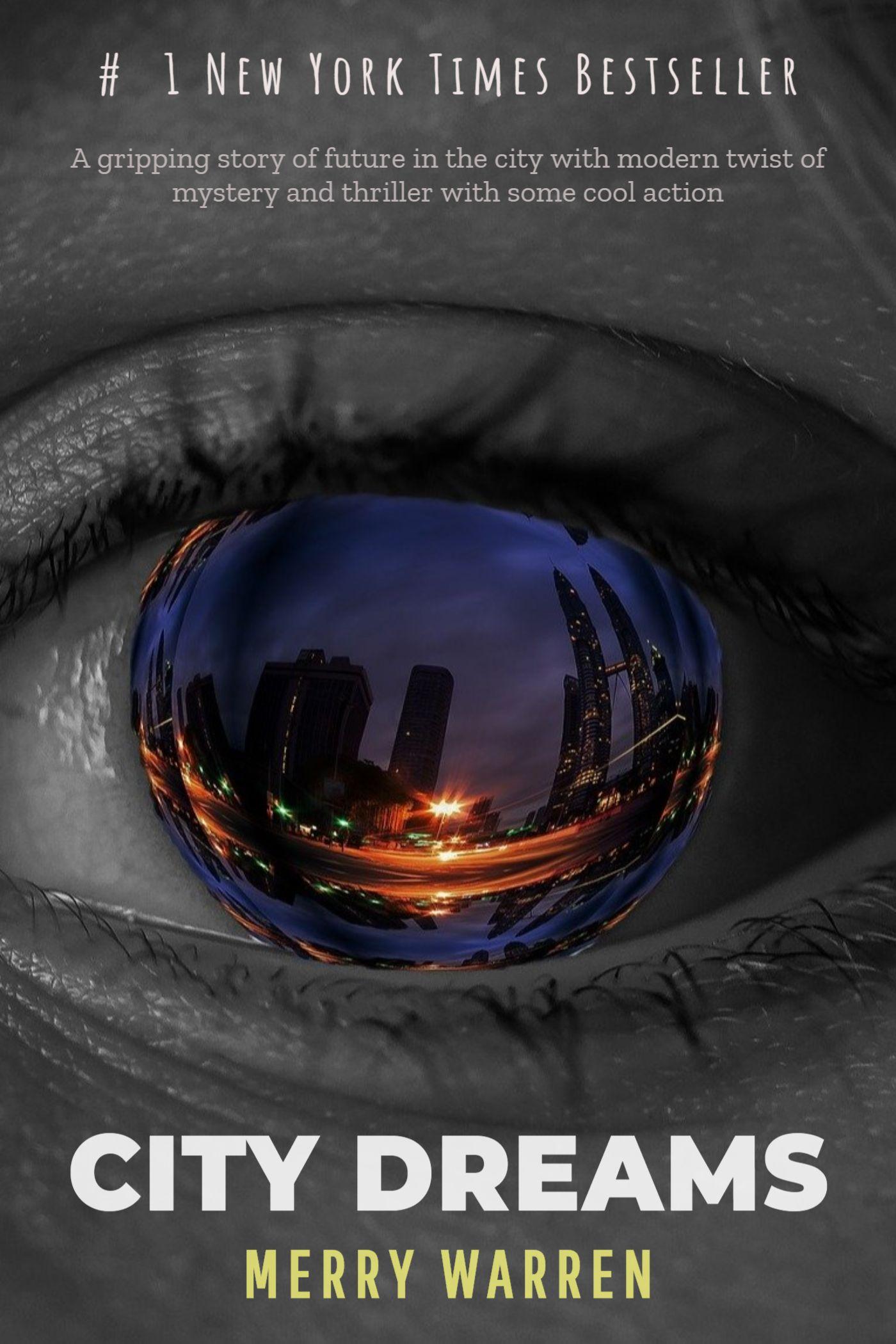 City Dreams Sci Fi Book Cover Maker