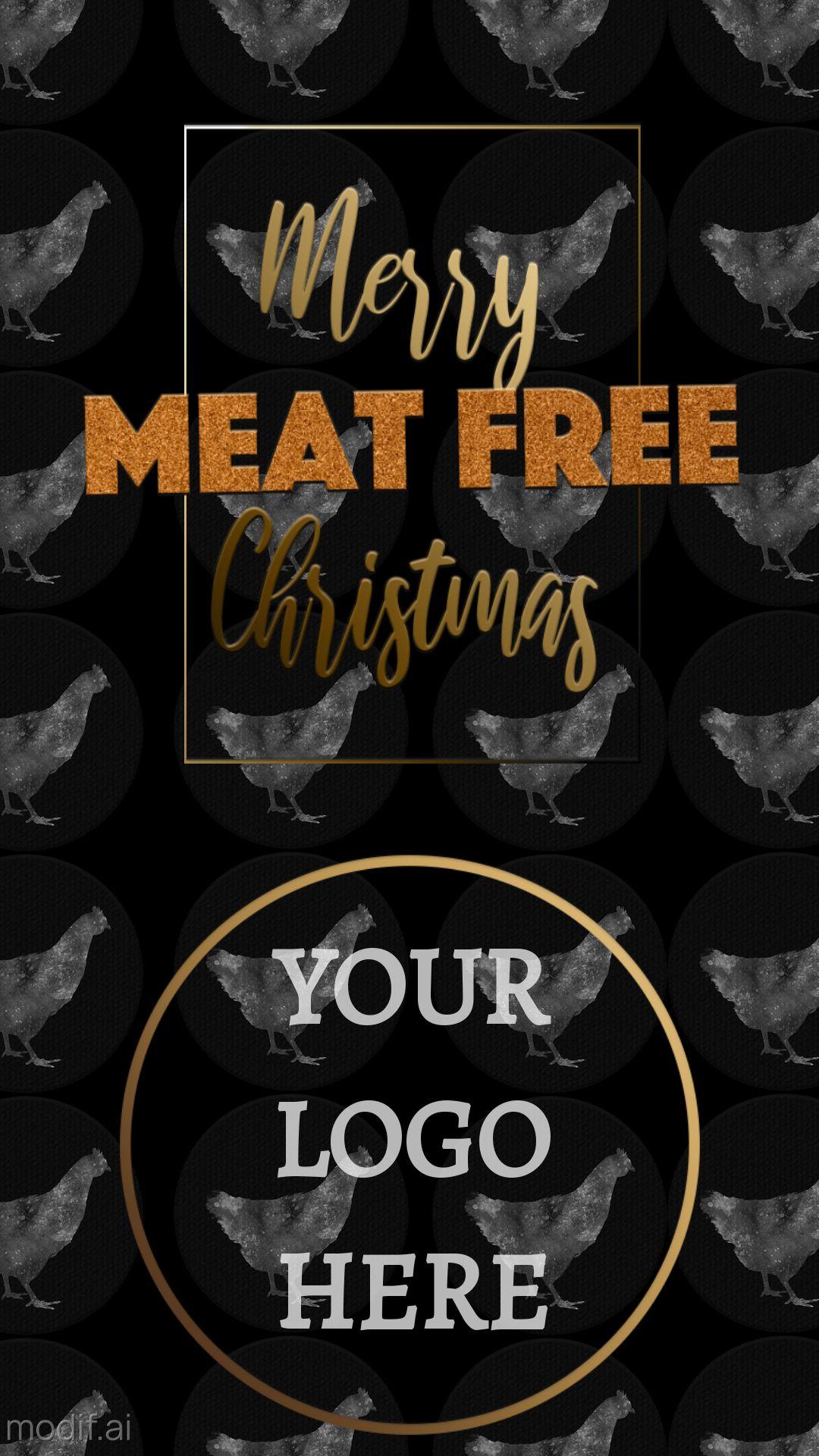 Meat Free Christmas Instagram Story Maker