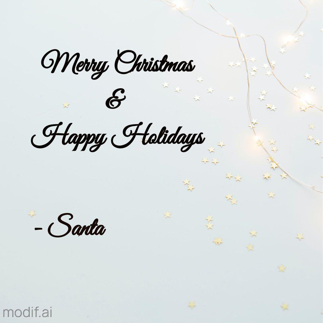 Christmas Holiday Wish Instagram Post Maker