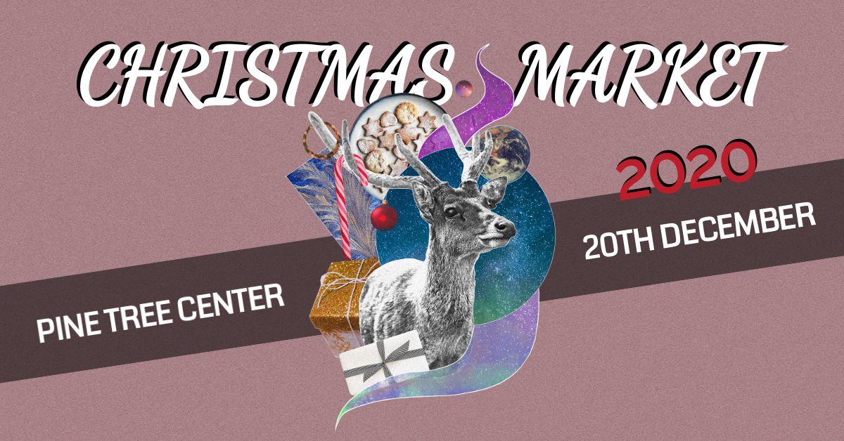 Christmas Market Banner Design Template