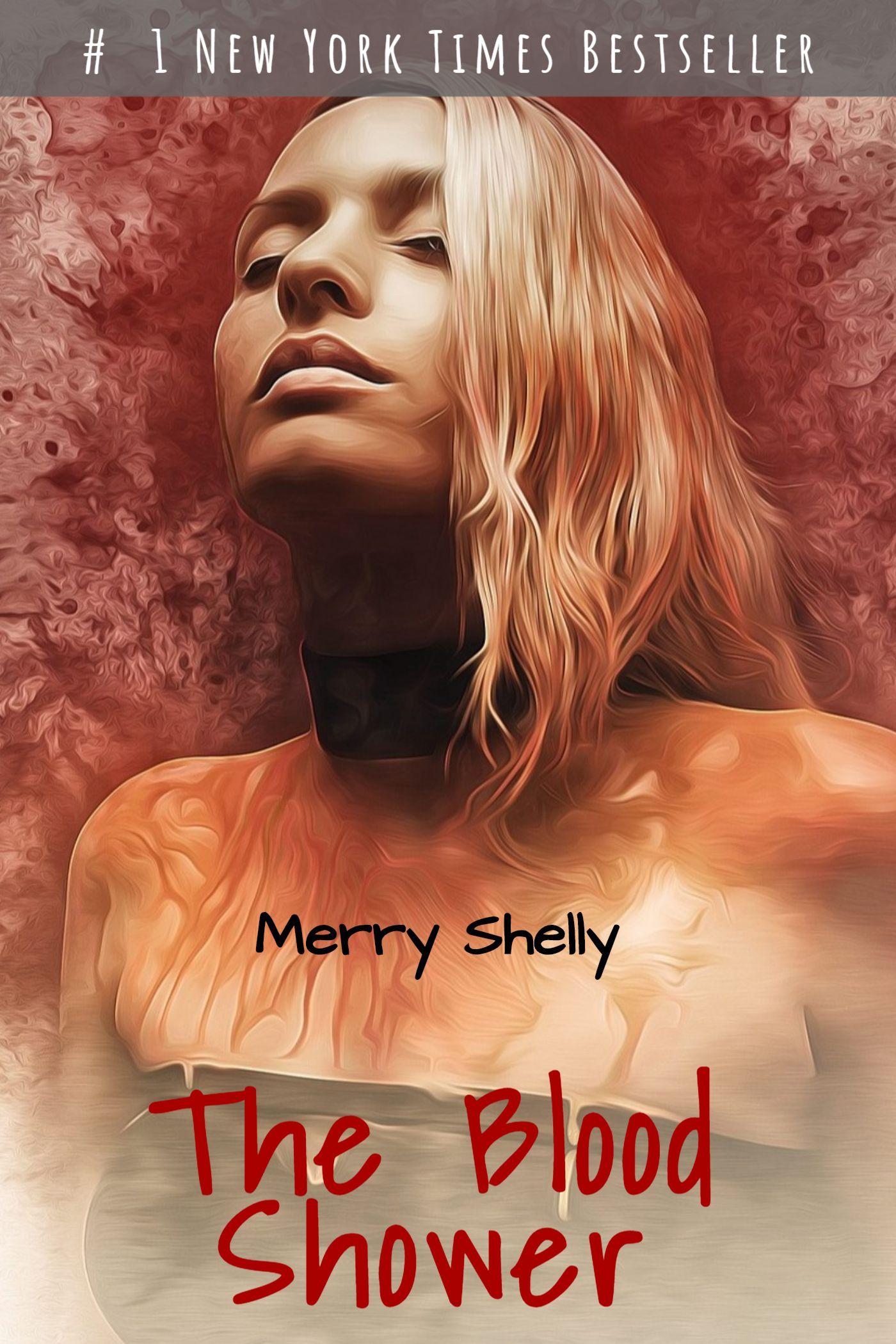 Blood Shower Horror eBook Cover Maker