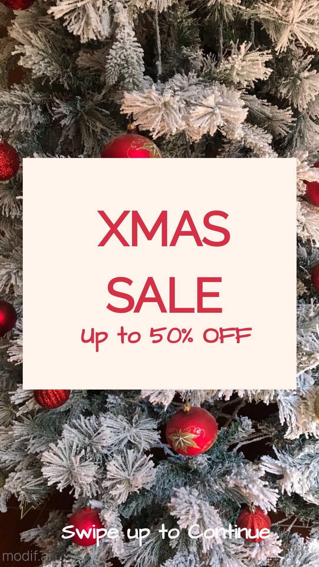 Christmas Sale Instagram Story Maker