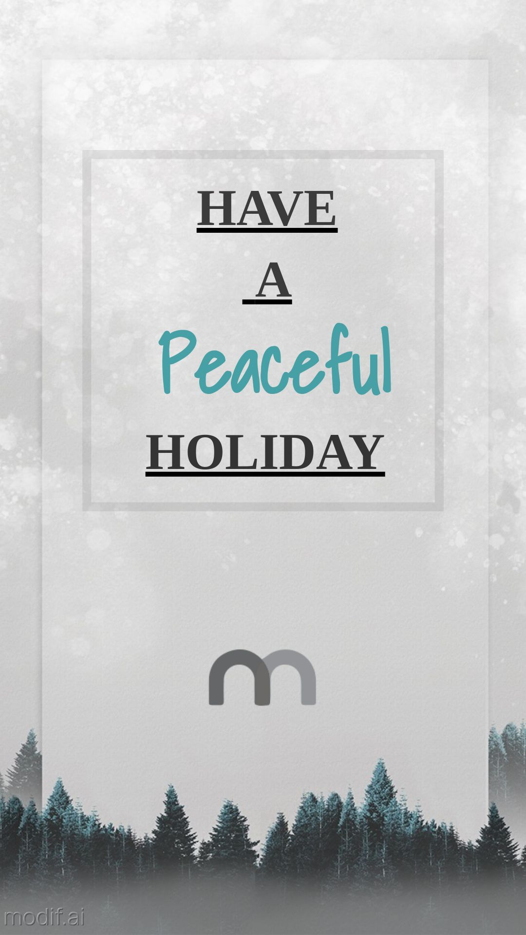 Holiday Card Instagram Story Template