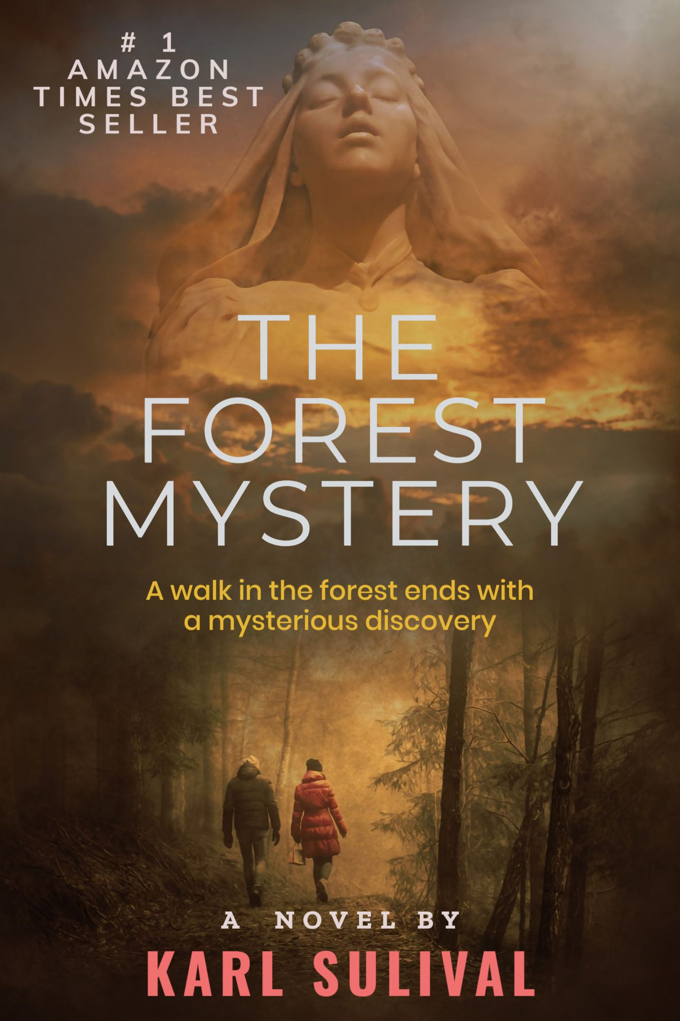 Forest Mystery Novel eBook Cover Template