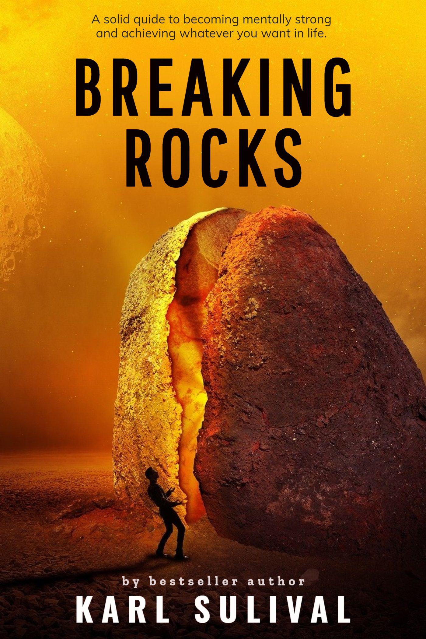 Break Rocks eBook Cover Template