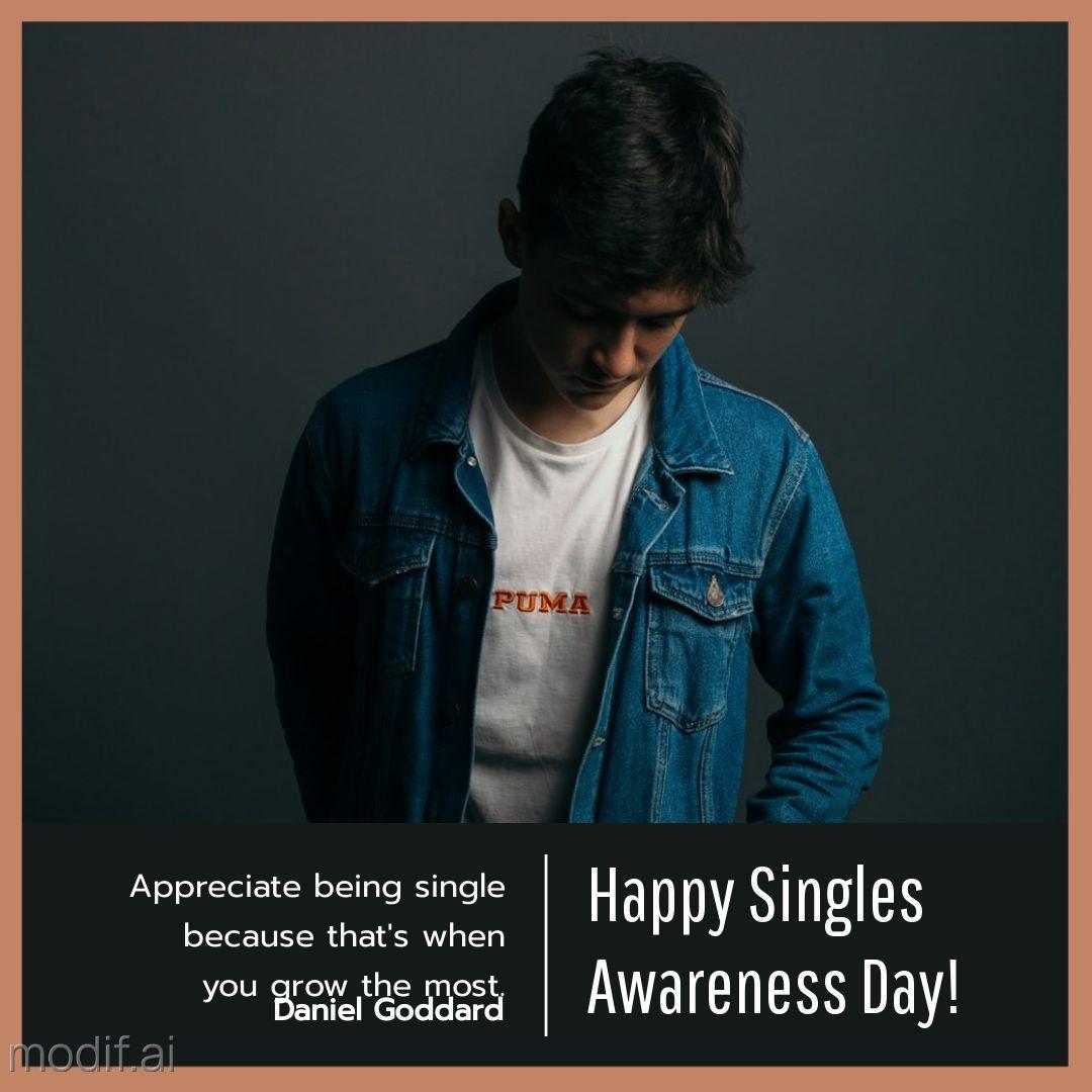 Singles Day Motivational Instagram Post