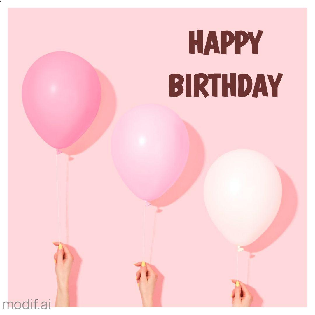 Happy Birthday Instagram Post Design Template