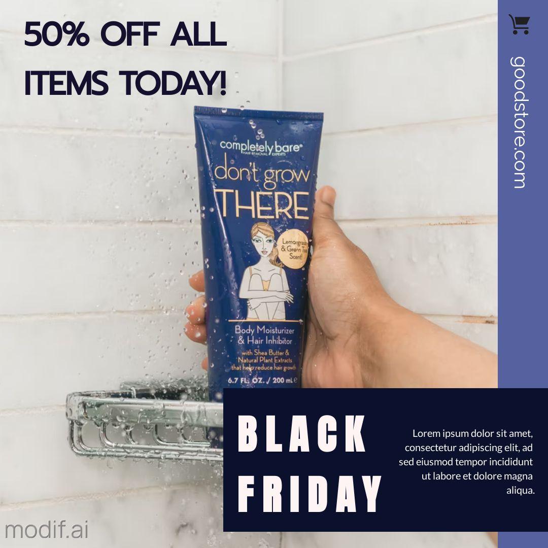 Black Friday Holiday Sales Offer Instagram Post