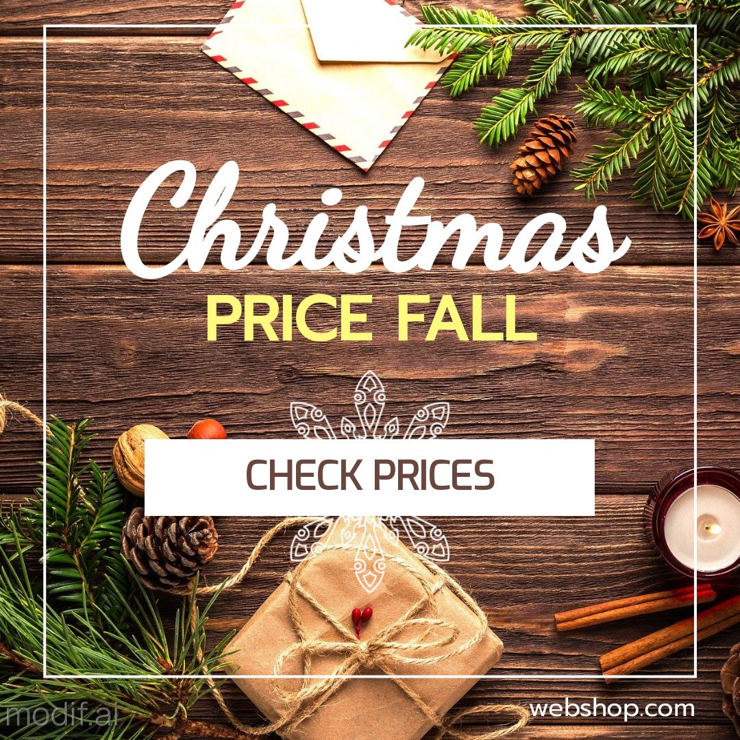 Christmas Holiday Discount Instagram Post