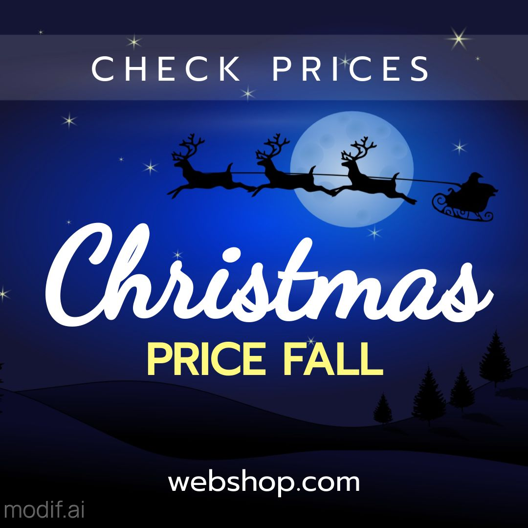 Christmas Holiday Discount Banner Maker