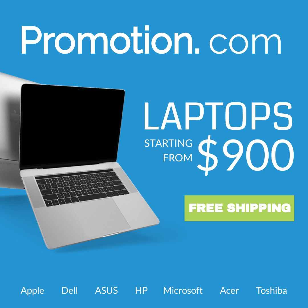 Laptop Sale Banner Design Template