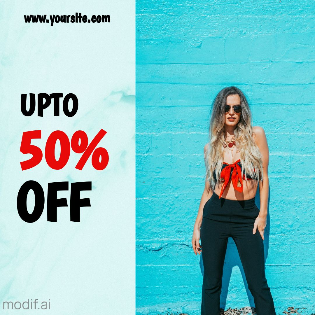 Fashion Offer Instagram Post Template