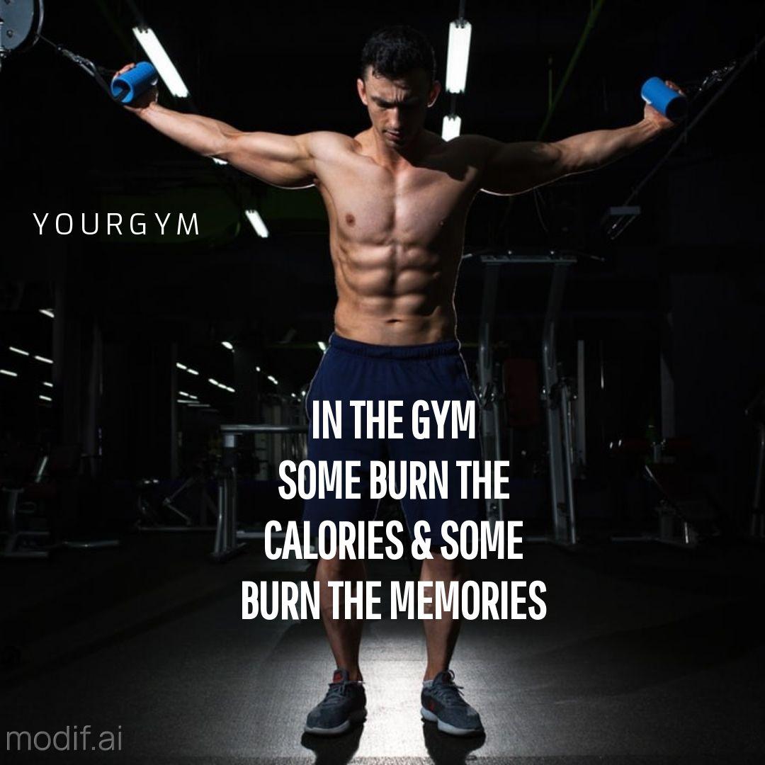 Motivation Workout Quote Instagram Post Maker