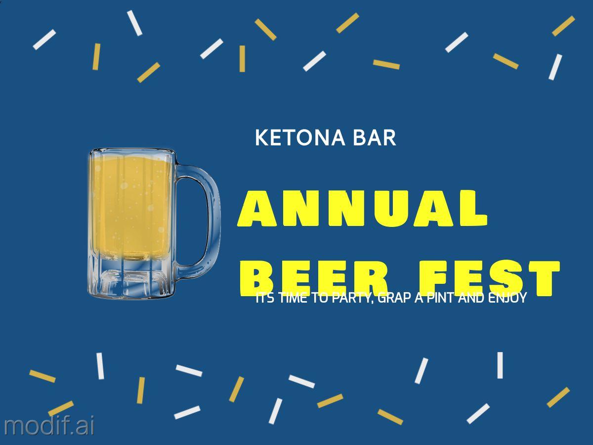 Beer Fest Facebook Post Template