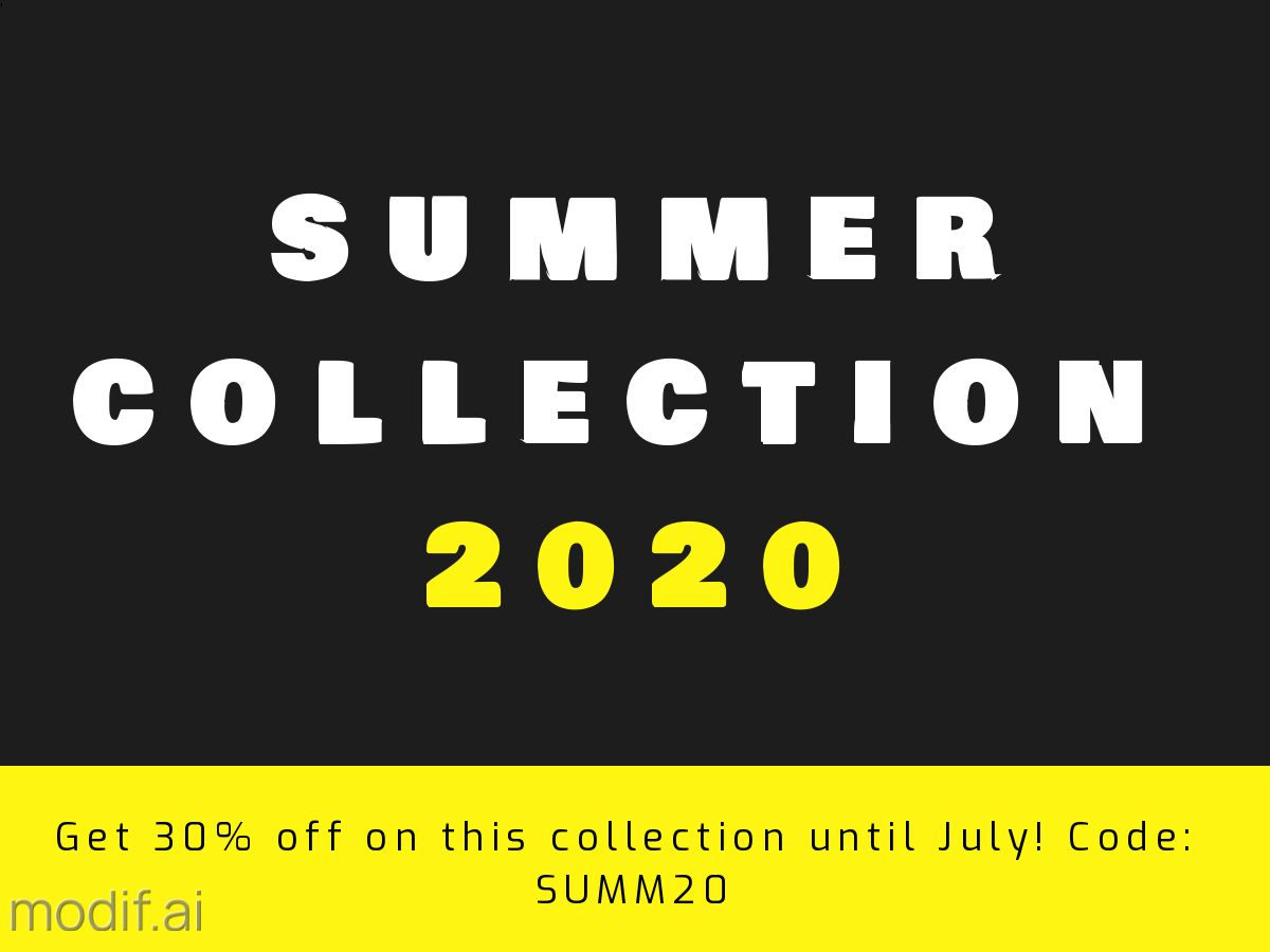 Summer Collection Facebook Post Template
