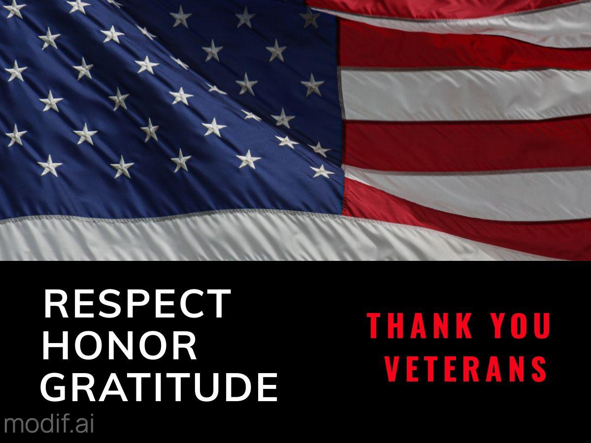 Veterans Day Facebook Post Template