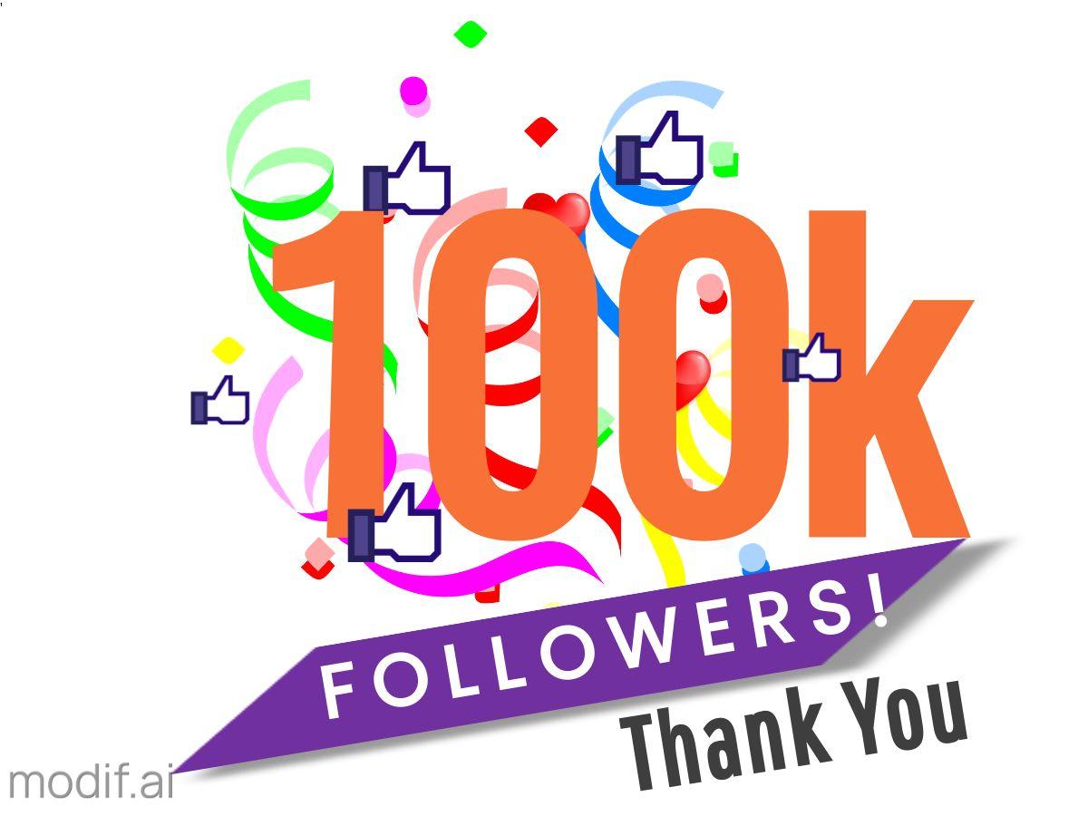Follower Thank You Facebook Post Template