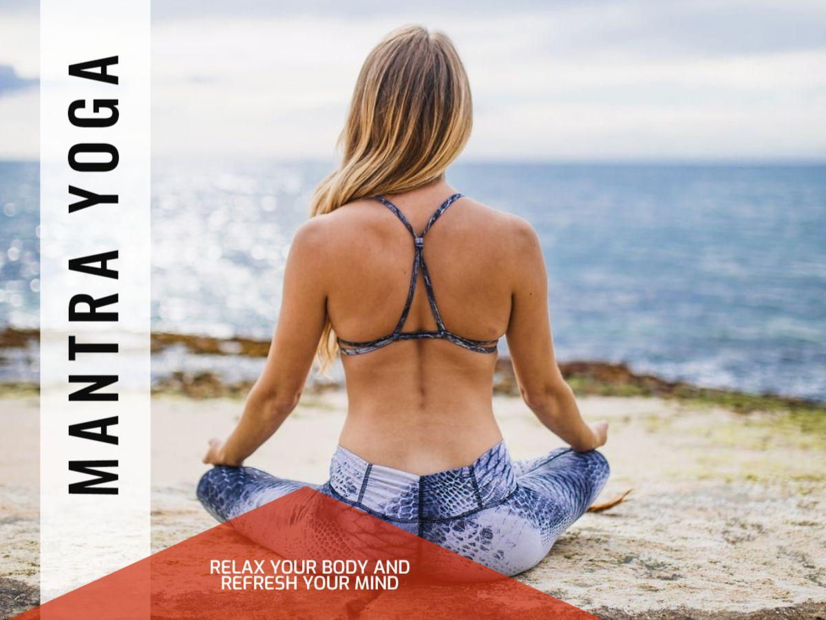 Yoga Ad Facebook Post Template