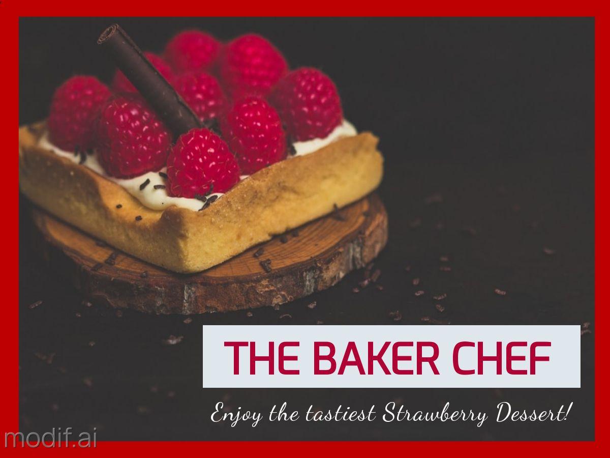 Dessert Item Facebook Post Template